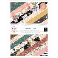"Pink Paislee Single-Sided Paper Pad 6""X8"" 36/Pkg NOTM432235"