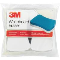 3M Whiteboard Eraser for Whiteboards, 2/Pack MMM581WBE