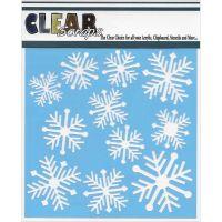 "Clear Scraps Stencils 6""X6"" NOTM275954"