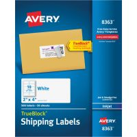 Avery 8363 Shipping Labels AVE8363