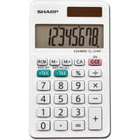 Sharp EL-244WB 8 Digit Professional Pocket Calculator SHREL244WB