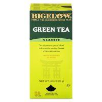 Bigelow Single Flavor Tea, Green, 28 Bags/Box BTC00388