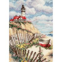 Dimensions Gold Petite Cliffside Beacon Counted Cross Stitch Kit NOTM304411