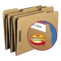 Smead 11 Point Kraft Folders, Two Fasteners, 1/3 Cut Top Tab, Legal, Brown, 50/Box SMD19837