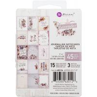 "Lavender Journaling Cards Pad 3""X4"" 45/Pkg NOTM357803"