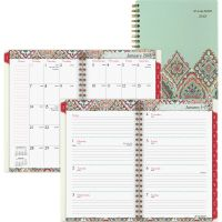 AT-A-GLANCE Marrakesh Desk Weekly/Monthly Planner, 5 3/4 x 8 1/8, 2019 AAG182200