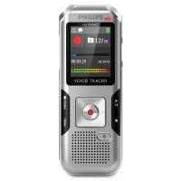 Philips Voice Tracer 4010 Digital Recorder, 8 GB, Silver PSPDVT4010