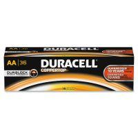 Duracell CopperTop Alkaline Batteries, AA, 36/PK DURAACTBULK36