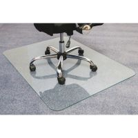 Cleartex Glaciermat Glass Chair Mat FLR123648EG
