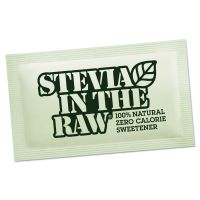 Stevia in the Raw Sweetener, 2.5 oz Packets, 50 Packets/Box SMU75050