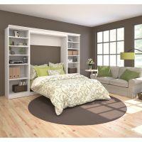 Bestar Versatile by Bestar 109'' Full Wall bed kit in White BESBES4089117