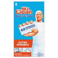 "Mr. Clean Magic Eraser Extra Durable, 4 3/5"" x 2 2/5"", 4/Box PGC82038"
