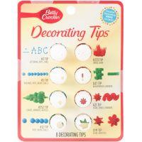 Betty Crocker Decorating Tip Set 8/Pkg NOTM086232