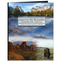 America The Beautiful Commemorative Quarter Color Folder NOTM423564