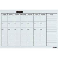 Lorell Monthly Planner Magnetic Dry-erase Board LLR19212