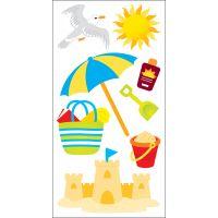 SandyLion Essentials Dimensional Stickers NOTM404056