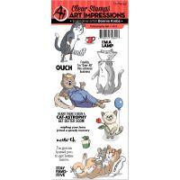 Art Impressions Clear Stamp Set NOTM098782