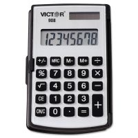 Victor 908 Portable Pocket/Handheld Calculator, 8-Digit LCD VCT908