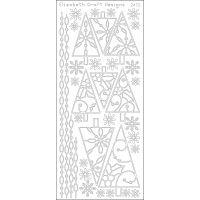 Christmas Trees 2 Peel-Off Stickers NOTM124650