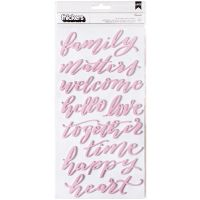 """Jen Hadfield Heart Of Home Thickers Stickers 5.5""""X11"""" 2/Pkg NOTM047795"""
