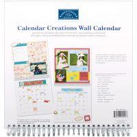 """Calendar Creations Wall Calendar 12""""X12"""" NOTM300037"""