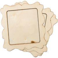 Rectangle Wood Frame 3/Pkg NOTM052630
