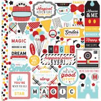 "Magic & Wonder Cardstock Stickers 12""X12"" NOTM387140"