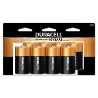 Duracell CopperTop Alkaline Batteries, D, 8/PK DURMN13RT8Z