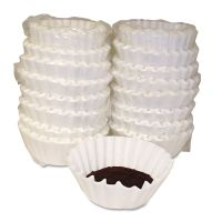 Melitta Coffee Filters, Paper, Basket Style, 12 to 15 Cups, 800/Carton MLA620014