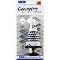 Fondant Geometric Multicutter Set 3/Pkg NOTM435771