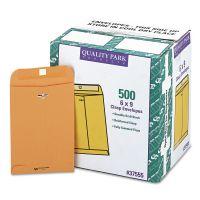 Quality Park Clasp Envelope, #55, 6 x 9, 28lb, Brown Kraft, 500/Carton QUA37555