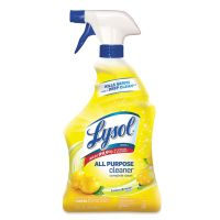 LYSOL Brand II Ready-to-Use All-Purpose Cleaner, Lemon Breeze, 32oz Spray Bottle, 12/Carton RAC75352CT