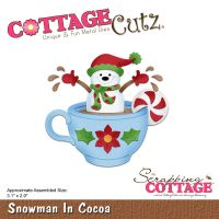 CottageCutz Snowman In Cocoa Die NOTM204868