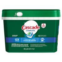 Cascade ActionPacs, Fresh Scent, 22.5 oz Tub, 43/Tub PGC98208PK