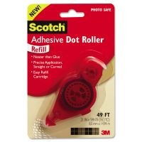 Scotch Adhesive Dot Refill, .3 in x 49ft MMM6055R
