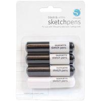 Silhouette Sketch Pens 4/Pkg NOTM356234