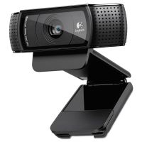 Logitech C920 HD Pro Webcam, 1080p, Black LOG960000764