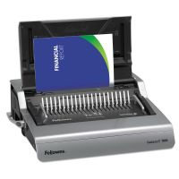 Fellowes Galaxy 500 Electric Comb Binding System, 500 Sheets, 19 5/8x17 3/4x6 1/2, Gray FEL5218301