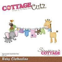 Cottagecutz Baby Clothesline Die NOTM392385