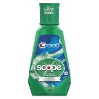 Crest Crest + Scope Mouth Rinse, Classic Mint, 1 L Bottle PGC95662EA