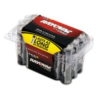 Rayovac Ultra Pro Alkaline Batteries, AAA, 18/Pack RAYALAAA18PPJ