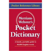 Merriam Webster Pocket Dictionary, Paperback, 416 Pages MER530