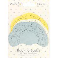 Dovecraft Back To Basics Paper Lace Doilies 30/Pkg NOTM091838