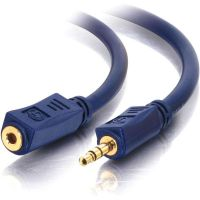 C2G 50ft Velocity 3.5mm M/F Stereo Audio Extension Cable SYNX2209726