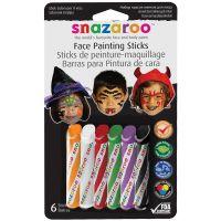 Snazaroo Face Painting Sticks 6/Pkg NOTM486709