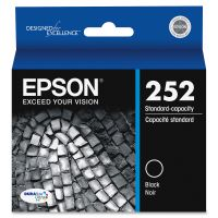 Epson T252120 (252) DURABrite Ultra Ink, Black EPST252120