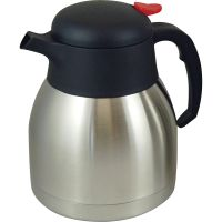 Genuine Joe Double Wall Stainless Vacuum Insulated Carafe GJO11955