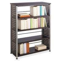 Safco Scoot Contemporary Design 4-Shelf Bookcase SAF1603BL