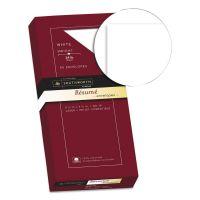 Southworth 100% Cotton #10 Resume Envelope, 4 1/8 x 9 1/2, White, 24lb, Wove, 50/Box SOUR1410L