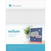 "Silhouette Vellum Sheets 8.5""X11"" 6/Pkg NOTM356229"